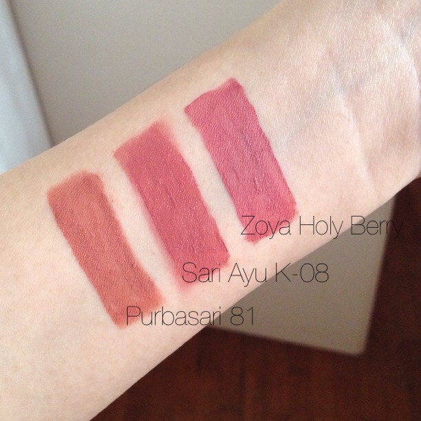 Review Purbasari Matte Lipstick New Color 92,95 & Swatch